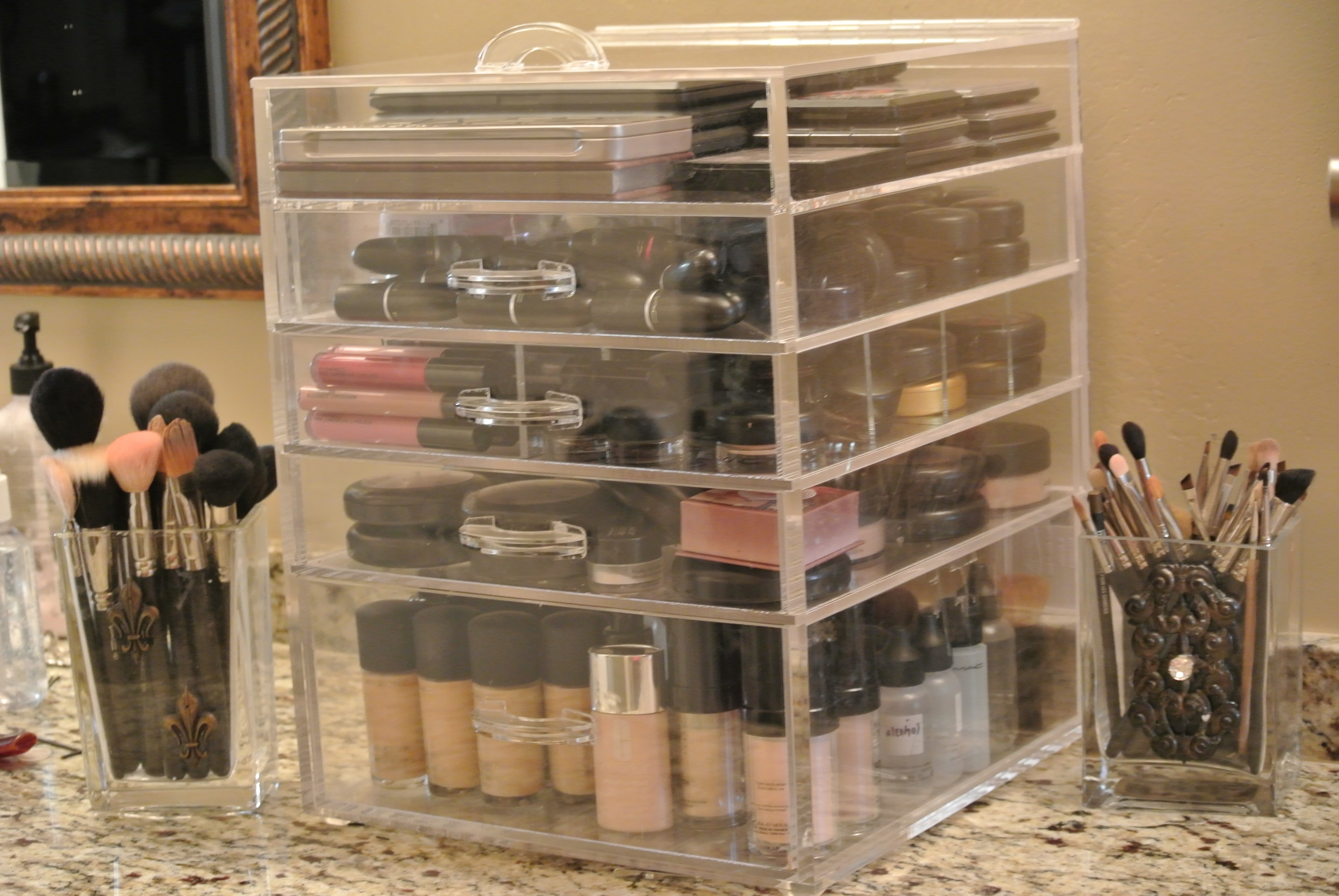 kim kardashian makeup organizer where to clear acrylic the absolute must have makeup u2026 & kim kardashian makeup organizer in her bathroom | My Web Value
