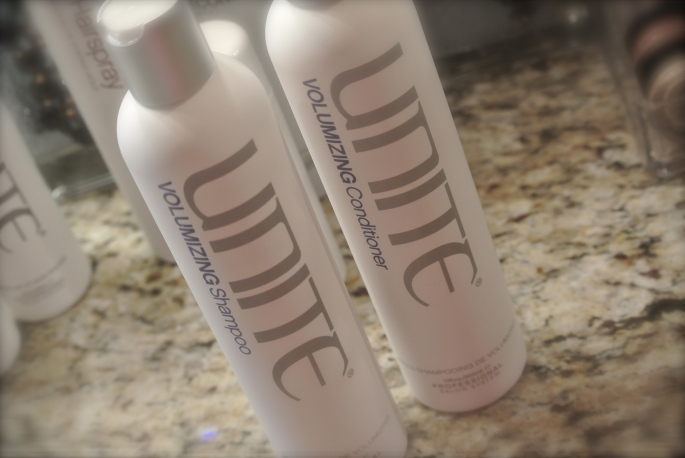 UNITE volumizing system, loveleigh beauty